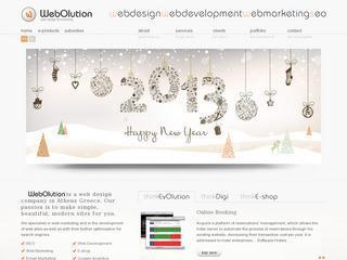 Σχεδιασμός Ιστοσελίδων WebOlution